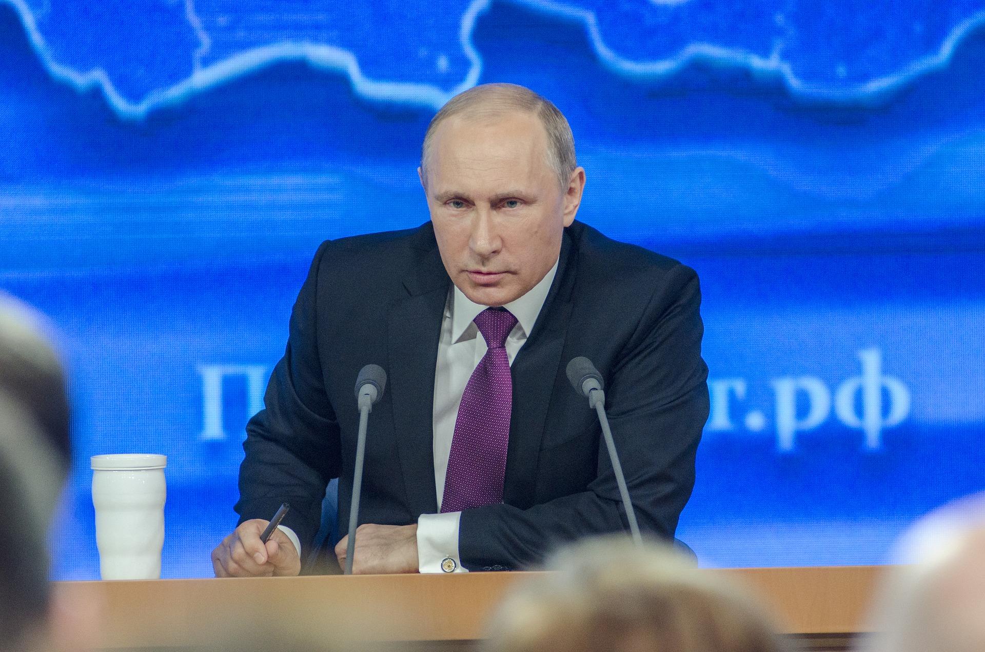 Lista Putina opublikowana przez rząd USA