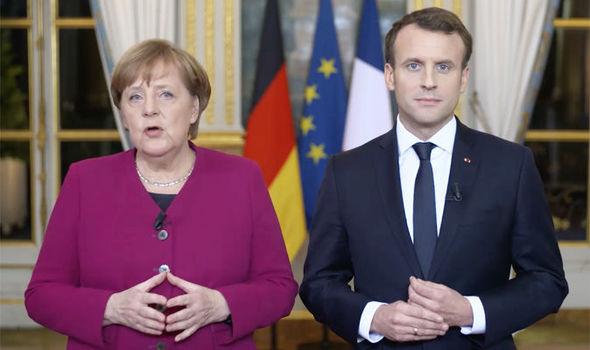 Macron i Merkel opracują wspólny plan integracji państw UE