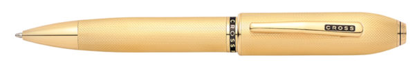 Długopis Cross Peerless 125 Medalist Heavy Gold Plate GT