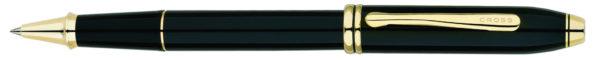 Długopis Cross Townsend Czarny Lakier GT