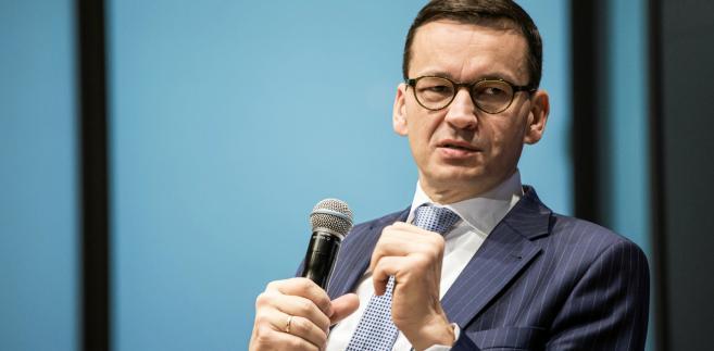 Zdaniem Morawieckiego Polska może zostać centralnym hubem dla gazu amerykańskiego