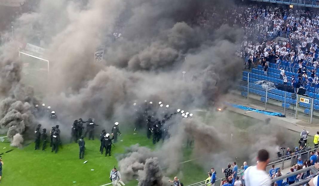 Zatrzymane pierwsze sześć osób po meczu Lech-Legia