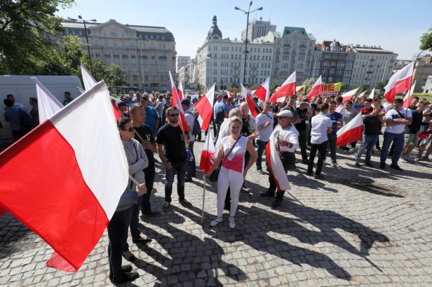 W Warszawie odbył się protest rolników