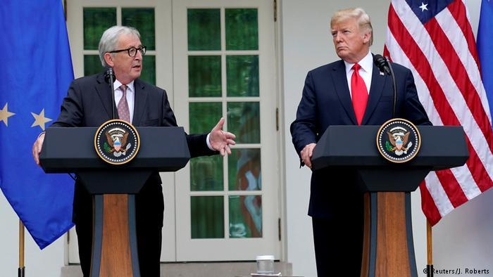 Trump: mamy nadzieję na porozumienie się z Europą ws. handlu