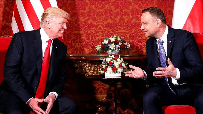 Trump: sojusz między Polską i USA nie był nigdy tak mocny